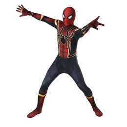 Movie Steel Canada - The Avengers 3, Spider-Man costumes, steel, Spider-Man returns, Spider-Man Cos.Halloween dresses