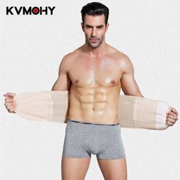 hot shaper abdomen 2019 - Corset Men Slimming Belt Body Shaper Underwear Shapewear Slim Hot Waist Trainer Belt For Male Abdomen Belly High Quality