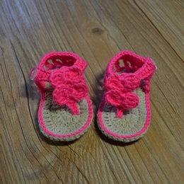 Baby Shoes Yarn Australia - Handmade yarn knitted soft sole shoes toddler shoes socks baby shoes