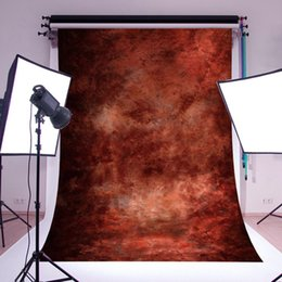 scenic background paper 2019 - 2017 3x5ft 5x7FT Hot Abstract Brown Wall Vinyl Photography Waterproof Background For Studio Photo Props Photographic Bac