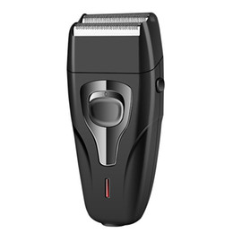 China Kemei Personal Care KM-1103 Electric Shavers Male Face Care Rechargeable Reciprocating Face Razor Dual-Net Face Shaver Razor suppliers