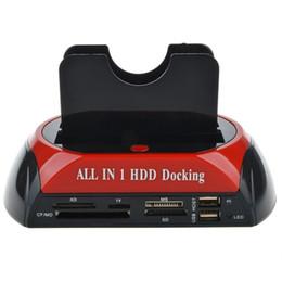 $enCountryForm.capitalKeyWord Australia - Multifunctional HDD Docking Station Dual USB 2.0 2.5  3.5 Inch IDE SATA External HDD Box Hard Disk Drive Enclosure Card Reader