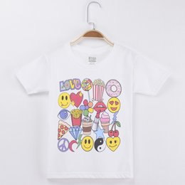 $enCountryForm.capitalKeyWord NZ - 2018 Special Discount Kids T-shirt For Children Clothing Baby Love Favorite Print 100% Cotton Boys Short T Shirts Girls Clothes Tops Tees