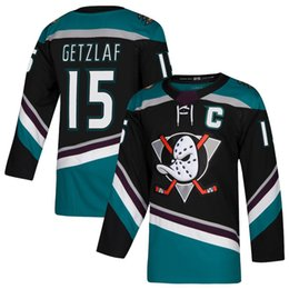 8cf7bc7d5 Men's 10 Corey Perry 15 Ryan Getzlaf 17 Ryan Kesler Anaheim Ducks Black  Teal Alternate Authentic Double Stiched Ice Hockey Jerseys IN STOCK