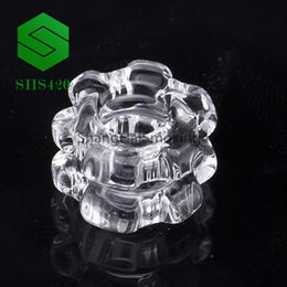 diamond water 2018 - New Diamond Knot Removable for 4mm quartz banger quarts nail 45 90 degree male female 10mm 14mm 18mm 90 45 degree for gl