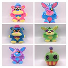 Discount fredbear plush - New FNAF Toys Five Nights At Freddy Plush Toy Bear Fox Bonnie Chica Golden Freddy Nightmare Fredbear Kids Plush Toys 18-