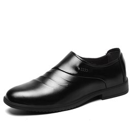 China Men Formal Wedding Shoes Summer 2018 New Arrivals Men Business Dress Shoes Loafers Pointy Mocassin Homme 5 cheap pointy black dress shoes men suppliers