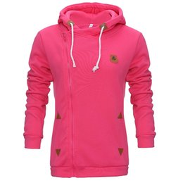 Chinese  Wholesale new style women's personality jerseys, casual cardigans, side zippers, hats, guards, jackets, hoodies manufacturers