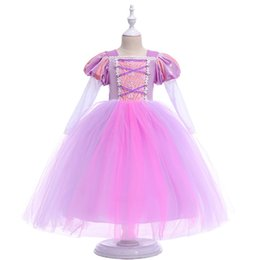 Pictures Baby Ball Gowns UK - Cloud Flower Girl Dresses Pink Rose Baby Puffy Ball Gown 2018 Flower Girl Dress Plus Size Custom Made