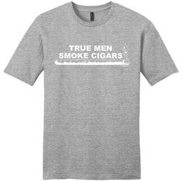 dcd3aaa9 Smoking Shirts Canada - Random T Shirts Cigar Gift True Men Smoke Cigars  Gifts Dad Grandpa