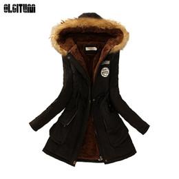 $enCountryForm.capitalKeyWord NZ - 2019 Winter women coat 2018 Women's Parka Casual Outwear Military Hooded fur Coat Down Jackets Winter Coat for Female CC001