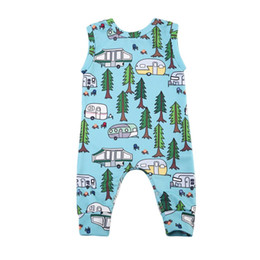China Pudcoco 2017 Toddler Infant Baby Boy Girl Sleeveless Romper Anime Jumpsuit Car Clothes Cute Novelty Outfits 0-24M cheap anime girls outfits suppliers