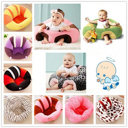 Wholesale 14 Styles Baby Support Seat Plush Soft Baby Sofa Seat Infant safe Pillow Cushion Sofa For 3-6 Months Sitting Learning Posture BKS01