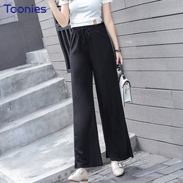 5fbc2bca69fb 8 Fotos Korean women summer casual trousers on-line-Pantalon Femme 2018 Novo  Estilo Coreano Moda