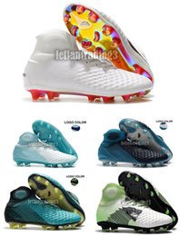 604031d6a 2018 new free shipping mens soccer boots cleats magista obra II soccer shoes  cleats 3D ACC indoor magistax proximo football shoes