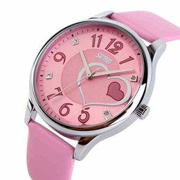 vintage pin up fashion UK - Women Fashion Dress Watch Young Ladies Leather Quartz Watches Casual Vintage Sports Wristwatches New 2017 Hours Y18102310