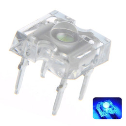 Diode Emitting Australia - 100 pcs 3mm Piranha Blue LED Diode Lights Lighting Bulb Lamps Electronics Components Light Emitting Diodes