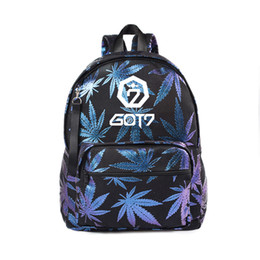 Backpacks Men's Bags Monsta X Got 7 Seventeen Twice Black Backpack Bag Bookbag Travel Laptop Bag Teenager Schoolbag Book Bag Cosplay Xmas Gift