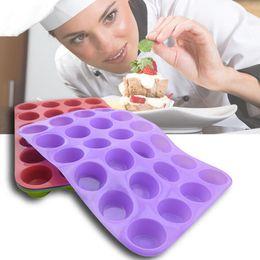 $enCountryForm.capitalKeyWord Australia - IVYSHION 12Grids Silicone Cake Mold Half Sphere Shape Handmade Silicone Molds For Chocolate Cake Dessert DIY Baking Tools