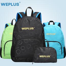 6b5b82c23d24 Portable Foldable School backpack ultra light Travel Bagpack Waterproof  Knapsack Rucksack Backpack wholesale for men Women