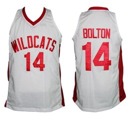 Troy Bolton  14 High School Musical Zac Efron Retro Classics Basketball  Jersey Mens Embroidery Stitched Custom any Number and name Jerseys 9c1b50706