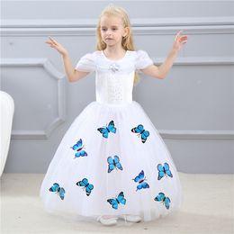 $enCountryForm.capitalKeyWord NZ - 2019 kids clothes Children 's clothing Cinderella princess skirt girl tutu Frozen performance clothing dress summer