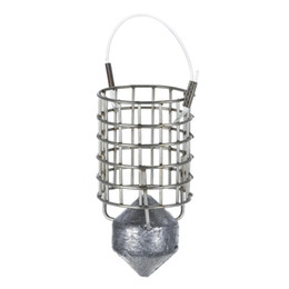 Bait Cages UK - Y5116-60 Stainless Steel Feeder Holder Fishing Lure Cage Fishing Trap Basket Feeder Bait Cage Fishing Bait