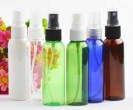 Empty plastic watEr bottlEs wholEsalE online shopping - 60 ml Empty Transparent Plastic Spray bottle Fine Mist Perfume bottles Water suitable for carrying out air freshener SN1415