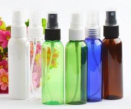 Flacone spray in plastica trasparente vuoto da 60 ml. Nebbia profumata Flaconi di profumo Acqua adatta per l'uso deodorante per ambienti SN1415 in Offerta