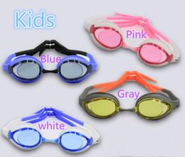 8ab7424e20 Natación deportes niños gafas de natación HD impermeable antiempañamiento  gafas de agua suministros al por mayor