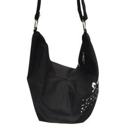 664956b300 2018 Black Korean Over Shoulder Bags Women Female Irregular Canvas Crossed  Body Crossbody Handbags Bag Ladies Messenger fashion bag