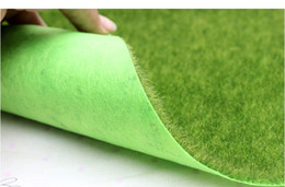 Discount miniature plastic plants - 30 *30cm  Piece ,High Quality Artificial Plastic Plant Small Moss Lawns ,Fake Grass Carpet ,Christmas Miniature Garden ,