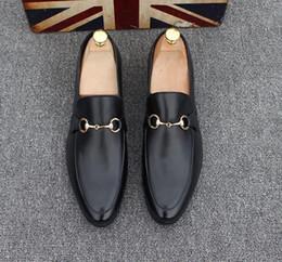 cf13f6a550b57c Chaussures pour hommes Luxe en cuir véritable Casual Conduite Oxfords Chaussures  Chaussures Mocassins Hommes Mocassins Chaussures Italiennes pour Hommes ...