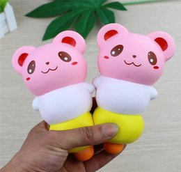 Squishy Charms Wholesale Australia - Squishy Toys Pig Gourd Squishy Slow Rising Cute Cartoon Jumbo Squeeze Decompression toys Phone Charms