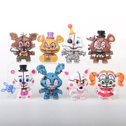 Wholesale Action Figures midnight harem sister Freddy Bear five nights to do key chain pendant ornaments