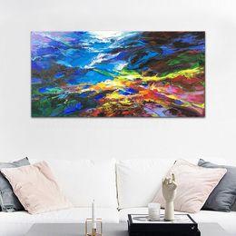 $enCountryForm.capitalKeyWord Australia - Large Canvas Abstract Painting HandPainted  HD Print Modern Wall Decor Art Oil Painting On Canvas.Multi sizes  frame Options Ab255