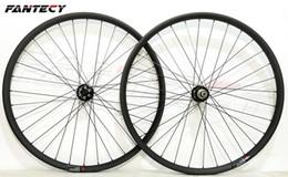 24 bicycle wheelset 2019 - FANTECY 29er hookless mountain bike carbon wheels 29inch MTB bicycle super light MTB XC carbon wheelset UD matte finish
