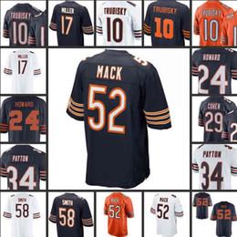 52 Khalil Mack chicago 10 mitchell trubisky jersey men Bears 34 walter  payton 54 brian urlacher 24 howard 29 tarik cohen 58 smith jerseys01 c0a5cf68b
