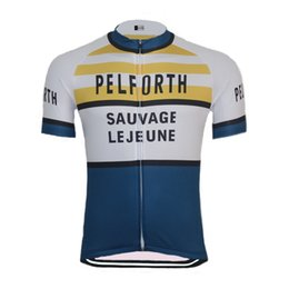 New men classic Cycling jersey ropa ciclismo Short sleeve Retro pro team Cycling  clothing maillot outdoor Bicicleta Triathlon edf68ee5d