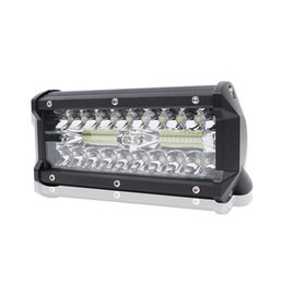 TracTor lighTs online shopping - 7 Inch W Combo LED Light Bar Spot Flood Beam for Work Driving Offroad Boat Car Tractor Truck x4 SUV ATV V V