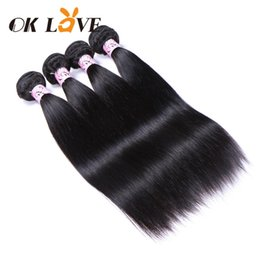Shiny weave online shopping - Peruvian Indian Hair Extensions Human Hair Weave Straight Human Hair Bundles Bundles Natural Color Shiny Soft And Healthy