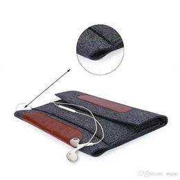 Yeni Moda Yumuşak iPad Için Kol Kapak Taşıma Çantası Mini Hissettim 1 2 3 4 Evrensel Koruyucu Çanta 2 Bölmeler OPP ÇANTA