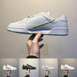 Wholesale 80 lower for sale – custom Grey OG White Continental Running Shoes Core black Aero Blue Casual Shoes Skateboard Classic White Shoes Shoe Size