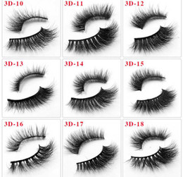 plastic black magnets NZ - 3 Magnetic Eyelashes Extension Natural False Eyelashes on magnets Reusable 3D Magnetic Fake Eye Lashes Makeup Soft Easy To Wear Fast Ship