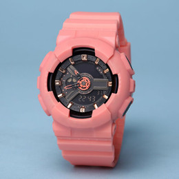 Multi functional watches online shopping - 2018 new ladies electronic waterproof watch multi time zone outdoor sports watch box girl mini LED digital watch so functional work