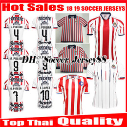 $enCountryForm.capitalKeyWord Canada - New 2018 2019 MEXICO Club Classic Chivas de Guadalajara Home Away Soccer Jersey 18 19 A.PULIDO Camiseta de Futbol jerseys Football Shirts