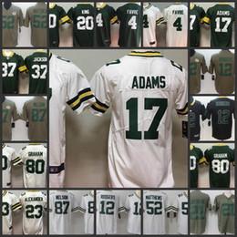 Green Bays Packers Jersey 80 Jimmy Graham 12 Aaron Rodgers 23 Jaire  Alexander 37 Jackson 4 Brett Favre 17 Davante Adams 52 Clay Matthews Jer 7501c39d6