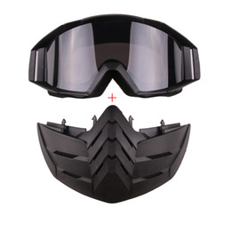 Chinese  Open Face Helmet Windproof Mask Motorcycle Goggles Outdoor Sunglasses Night Vision manufacturers