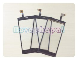 Thl Touch screen online shopping - Black Sensor For THL T6C Phone Touch Screen Digitizer Glass Panel Replacement tracking