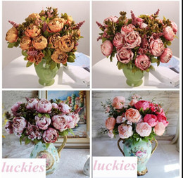 Luxury silk flowers wholesale canada best selling luxury silk 8 photos luxury silk flowers wholesale canada 18 color luxury 13 branches peony flower artificial fake flower mightylinksfo